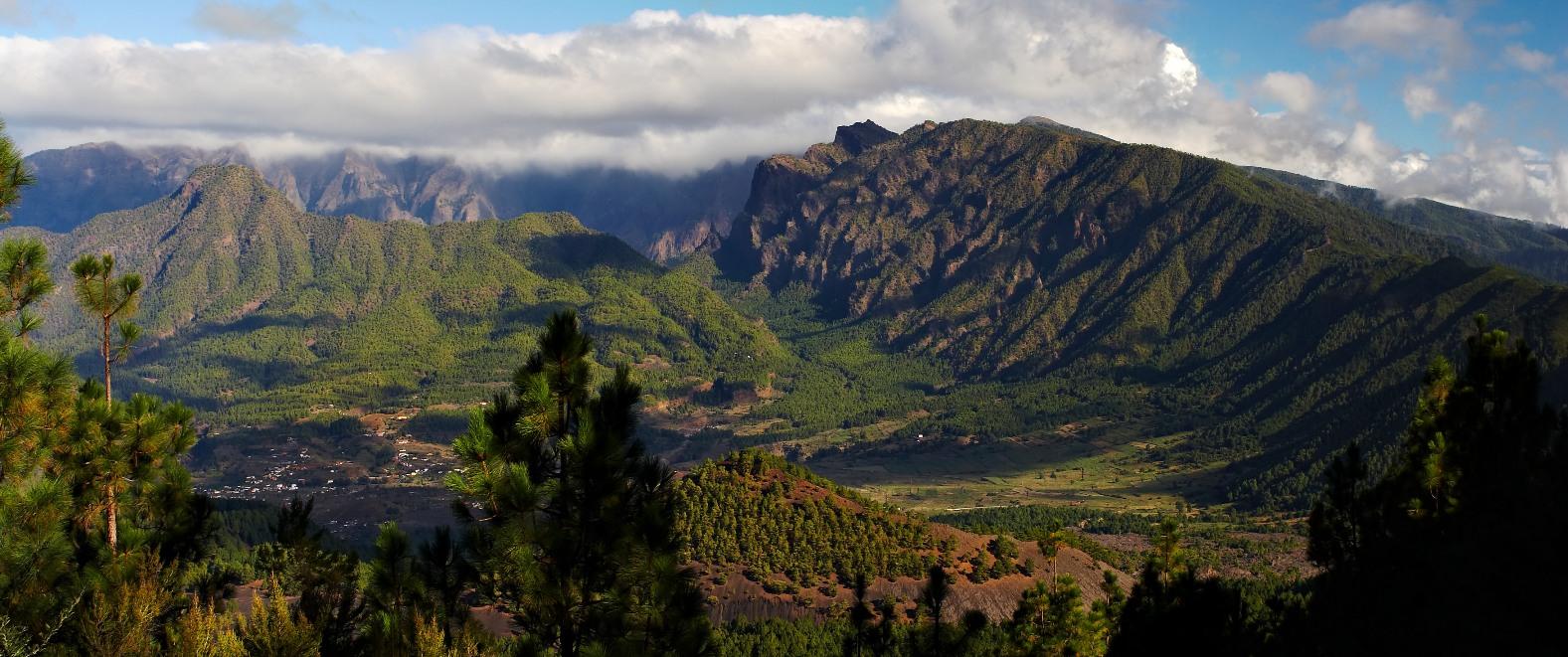 ациональный парк Кальдера де Табуриенте